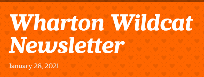 SD104 Wharton Elementary School Jan. 28, 2021 Newsletter