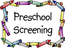 PRE-K SCREENING- March 16, 2020