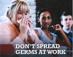 SD104 Notes From The Nurses: Don't Spread Germs At Work