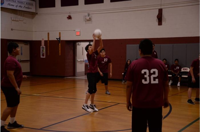 SD104 Heritage Middle School Athletics: Sailors Varsity Volleyball