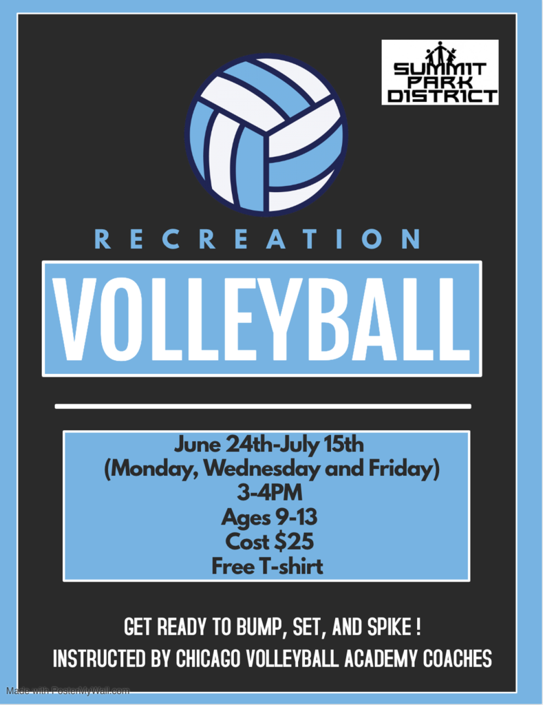 Summit Summer Volleyball Program