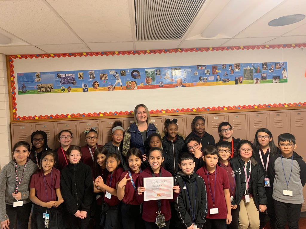 Ms. Xheraj's Class Wins America's Largest Series of Math Contests