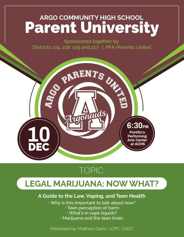 Parent University at Argo HS