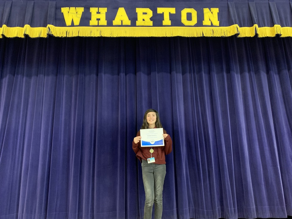 Wharton 2nd Place Spelling Bee