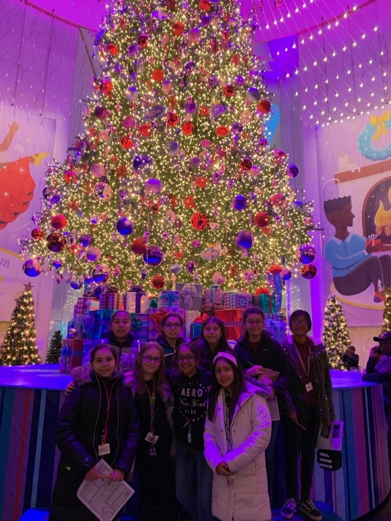 6th grade students at MSI
